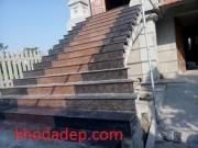 ĐÁ ỐP LÁT  cầu thang- nâu anh quốc