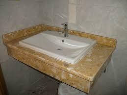 ĐÁ ỐP lavabo VÀNG LƯỠI RỒNG