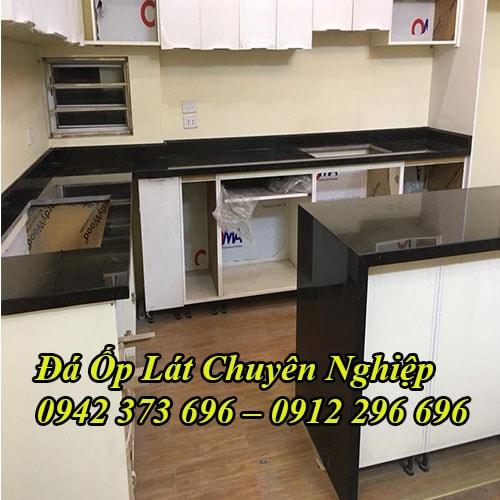 Mẫu Bàn Bếp Mặt Đá Granite Đẹp, Giá Rẻ Tại Hà Nội