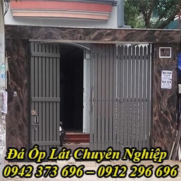 Thi Công Mặt Tiền Nhà Ốp Đá Hoa Cương Đẹp Tại Hà Nội